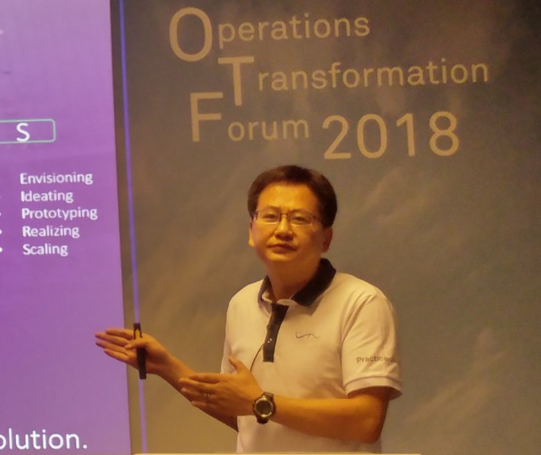 Derry Li, Vice President of Huawei Consulting & System Integration