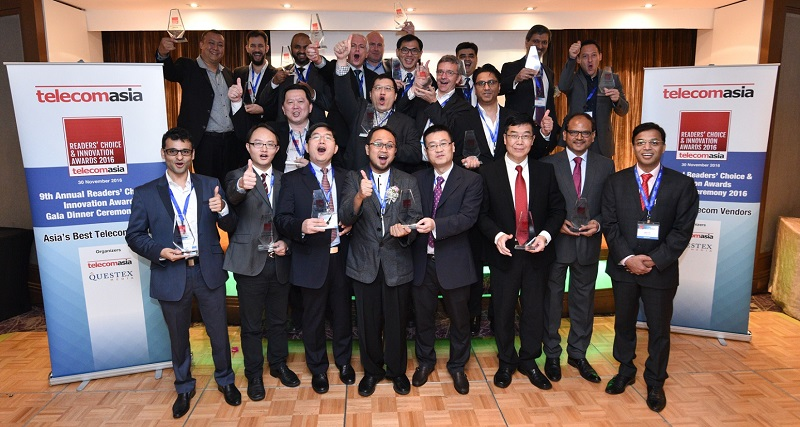 Telecom Asia Readers' Choice & Innovation Awards 2016