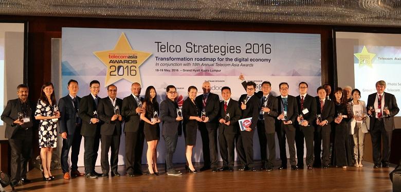 Telecom Asia Awards 2016 winners