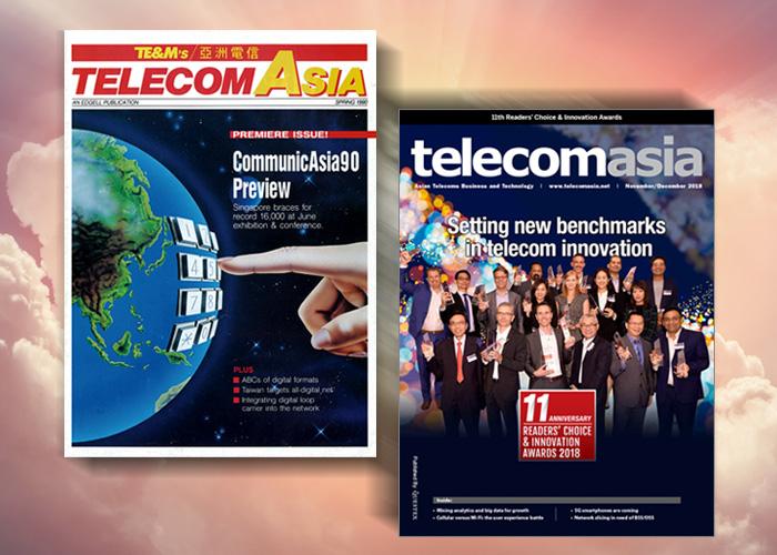 Telecom Asia 1990-2018