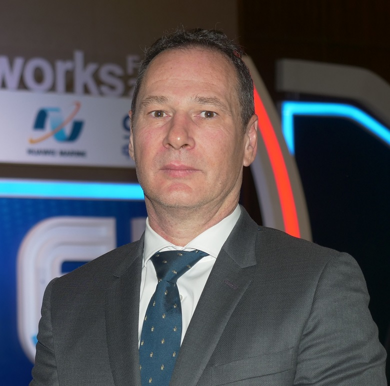 Mike Constable, chief executive officer of Huawei Marine