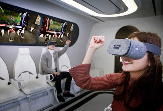SK Telecom Social VR Oksusu