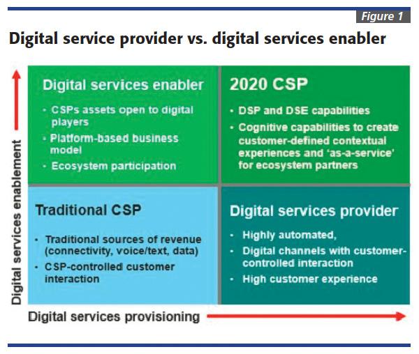 Digital service provider vs digital services enabler