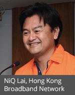 HKBN COO NiQ Lai