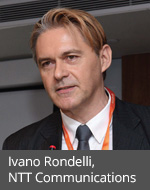 Ivano Rondelli, director, marketing, network services, NTT Communications