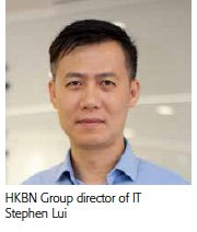 Stephen Lui, director of IT, HKBN Group