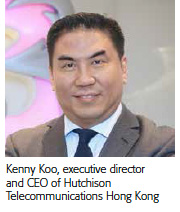 Kenny Koo, executive director and CEO, Hutchision Telecom Hong Kong