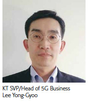 Lee Yong-Gyoo, KT SVP/Head of 5G Business