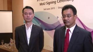 Embedded thumbnail for Huawei and Telin in Indonesia announce joint business collaboration