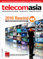Telecom Asia December 2016 - January 2017