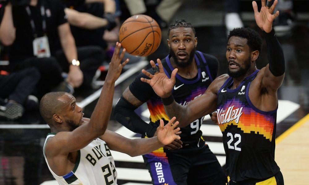 Phoenix Suns vs. Milwaukee Bucks. NBA Playoff Final Round ...